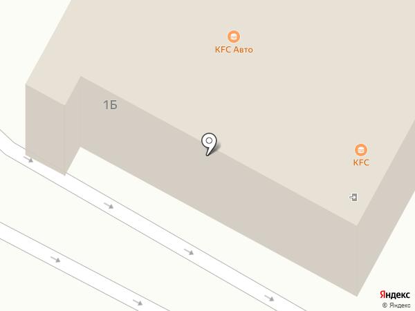 KFC на карте Новокузнецка
