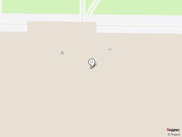 Металлург-Университет на карте Новокузнецка