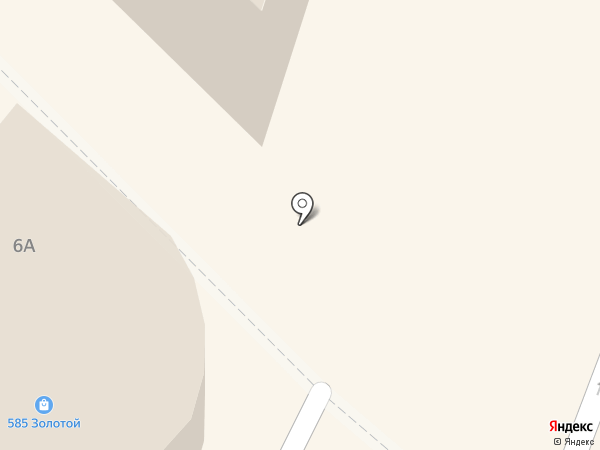 Белый камень на карте Новокузнецка