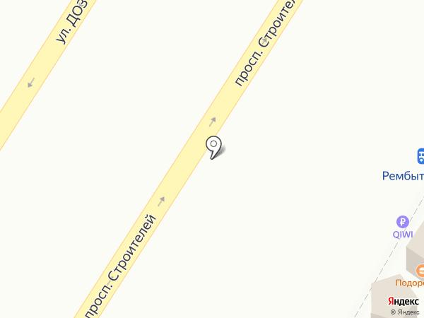 Подорожник на карте Новокузнецка