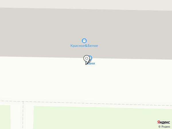 Ткани на карте Новокузнецка