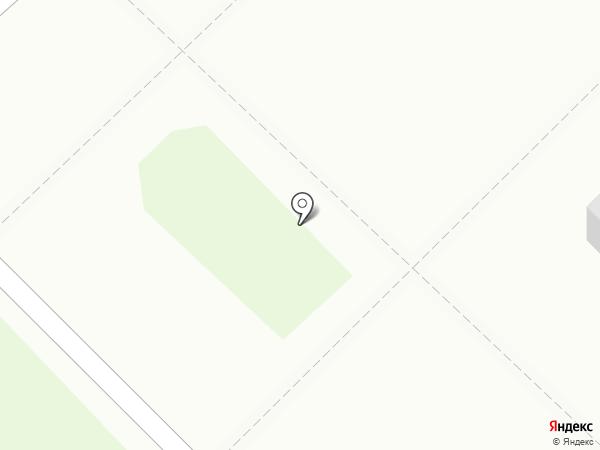 Яблочко на карте Новокузнецка