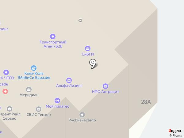 Эксперт-Плюс на карте Новокузнецка