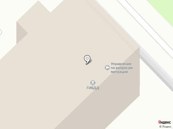 ГИБДД Отдела МВД России по Новокузнецкому району на карте Новокузнецка