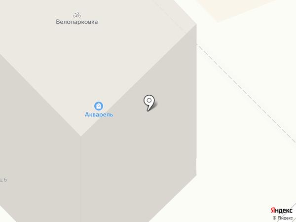 Волховец на карте Новокузнецка