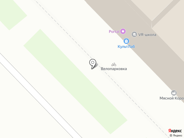 Muscle Gym на карте Новокузнецка