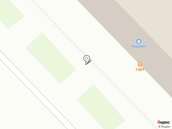 Вальс на карте Новокузнецка