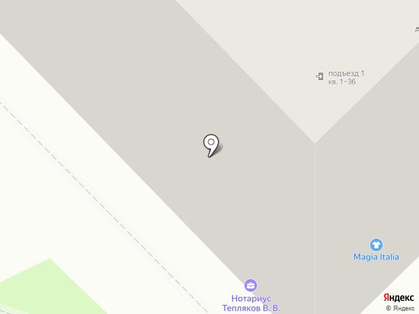 Агат на карте Новокузнецка