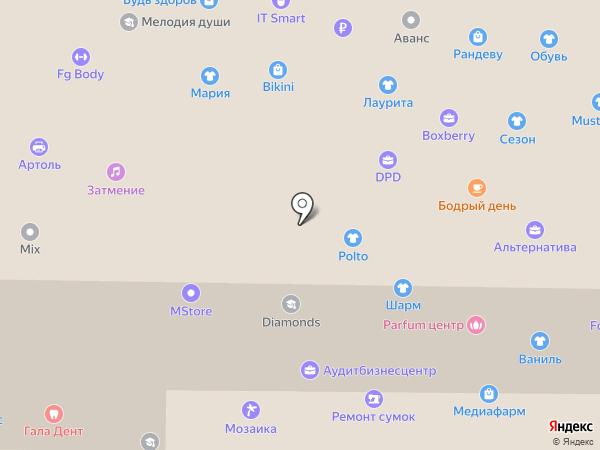 Детки на карте Новокузнецка