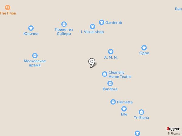 Egoist на карте Новокузнецка