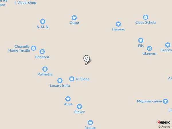 Модный салон на карте Новокузнецка