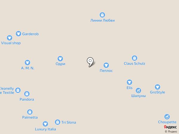 Ros на карте Новокузнецка