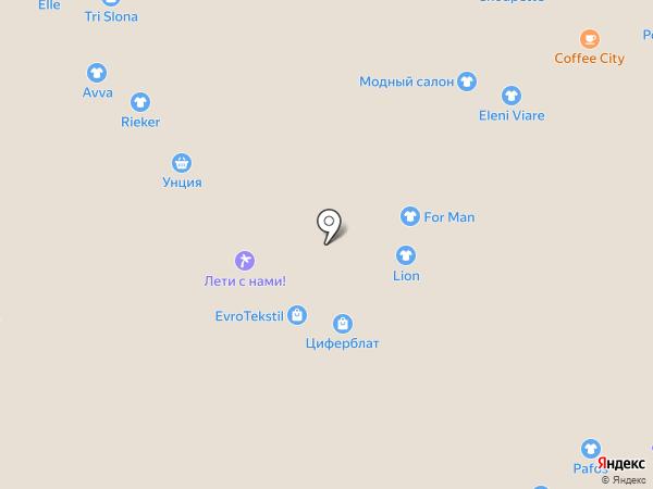 Ника на карте Новокузнецка