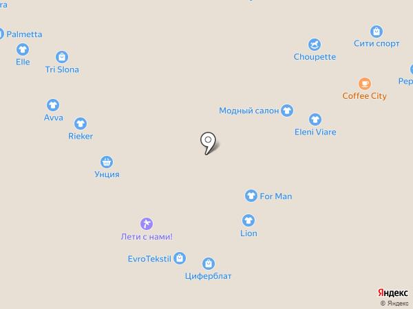 City Bloom на карте Новокузнецка