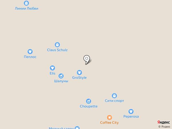 Uvelina на карте Новокузнецка