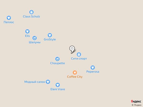 Модные дети на карте Новокузнецка