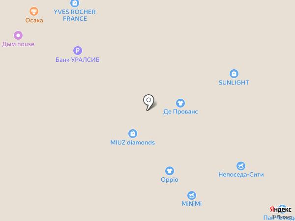 Данко на карте Новокузнецка