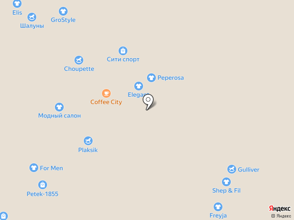 Acoola на карте Новокузнецка