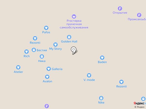 Perspektive на карте Новокузнецка