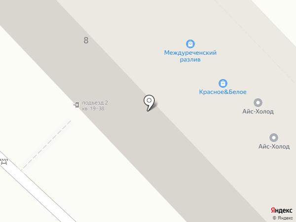 АЙС-МАРКЕТ на карте Новокузнецка