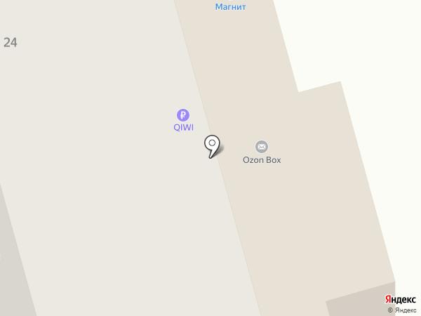 Ар-Мод на карте Новокузнецка