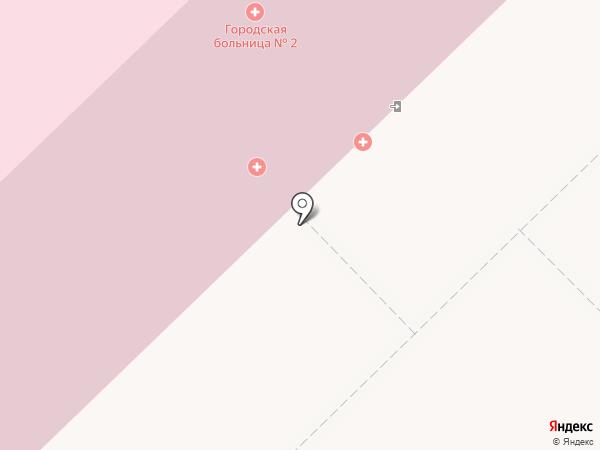 Городская клиническая больница №2 Святого великомученика Георгия Победоносца на карте Новокузнецка