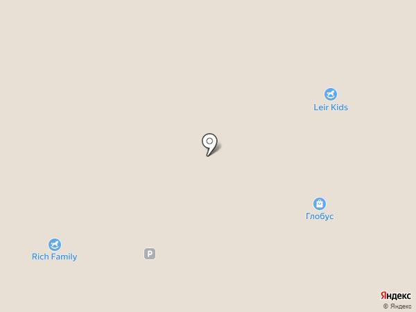 Лимонтир на карте Новокузнецка