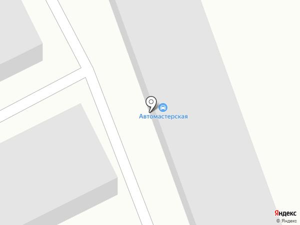 Автомастерская на Ильинке на карте Ильинки
