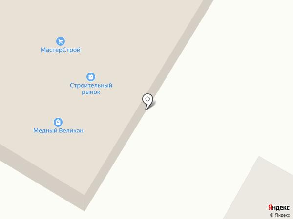 МастерСтрой на карте Сосновки
