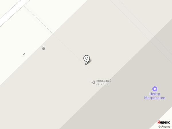 Центр Метрологии на карте Новокузнецка