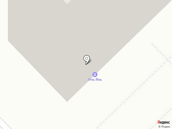1001 запчасть на карте Новокузнецка