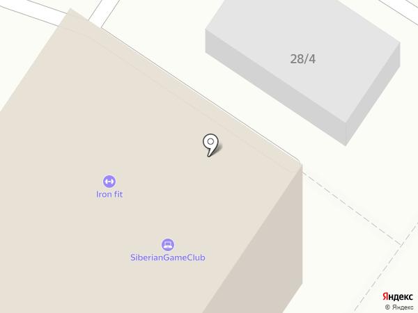 АйронФит на карте Новокузнецка