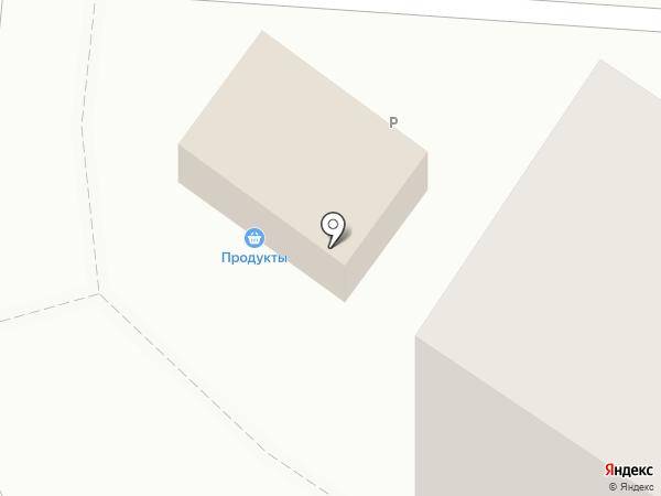 Продуктовый магазин на карте Новокузнецка