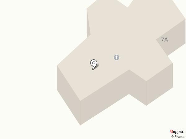 Храм Казанской иконы Божией Матери на карте Сосновки