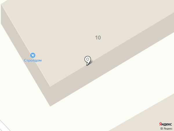 Строительный магазин на карте Ильинки