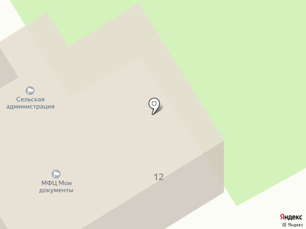 Администрация Красулинского сельского поселения на карте Ильинки