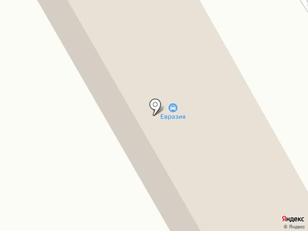 Магазин автозапчастей на карте Новокузнецка