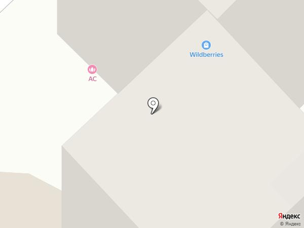 АС на карте Новокузнецка