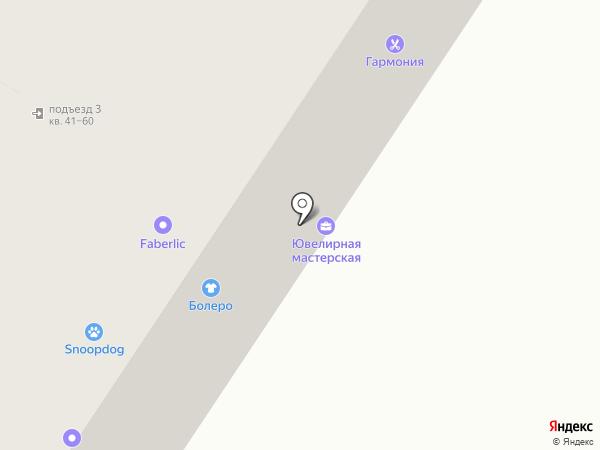 Технополюс на карте Новокузнецка