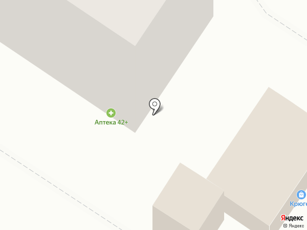 Аптекарский двор на карте Новокузнецка