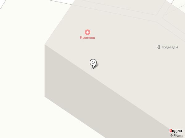 Крепыш на карте Новокузнецка