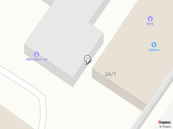 АйтиДоктор-Техно на карте Новокузнецка