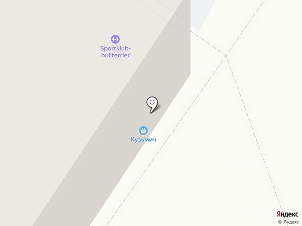 Кузьмич на карте Новокузнецка