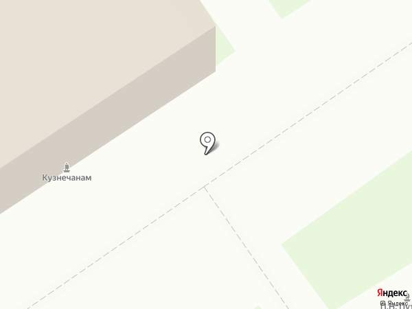 Магазин по продаже сувениров с видами г. Новокузнецка на карте Новокузнецка