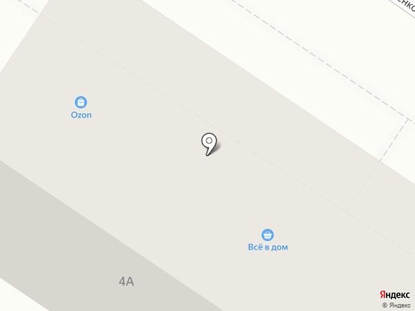 Все в дом на карте Новокузнецка