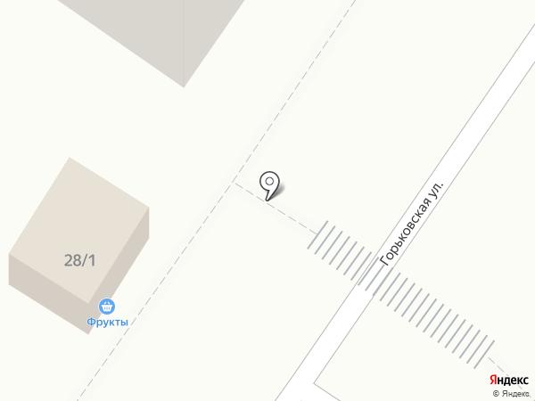 Киоск фруктов и овощей на карте Новокузнецка