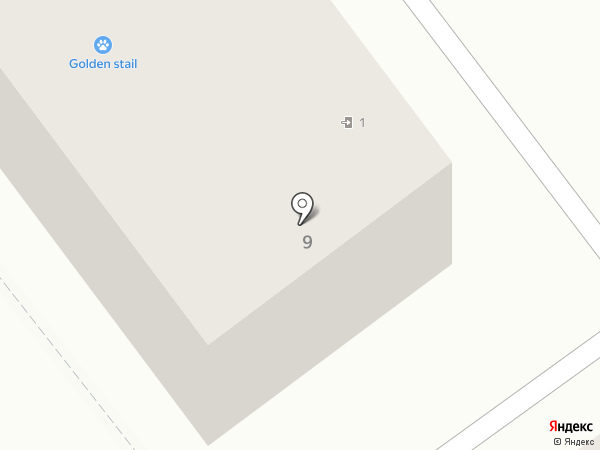 У дворца на карте Новокузнецка