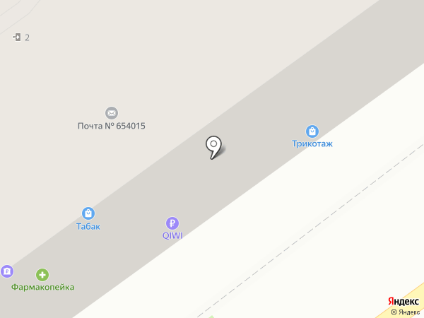 Компьютерные системы на карте Новокузнецка