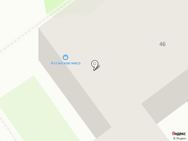 Магазин мяса на карте Новокузнецка