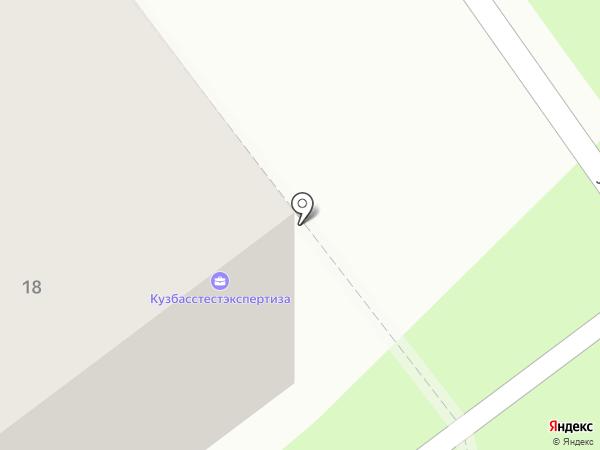 Офисы на карте Новокузнецка